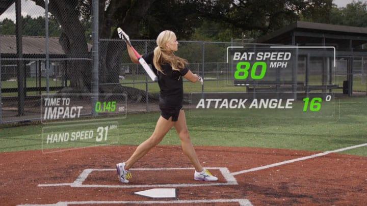 zepp lab sensor improves softball hitting