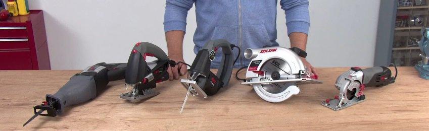 types of handheld power saws